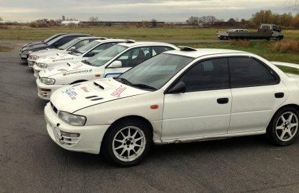 Jazda Subaru na torze dla 2 osób
