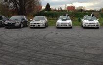 Jazda Subaru i Mitsubishi - Wroclaw