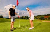 Kurs golfowy na polu