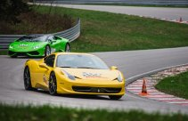 Jazda na torze w Kielcach - Lamborghini i Ferrari