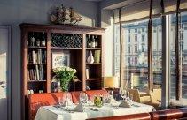 Kolacja w eleganckiej restauracji