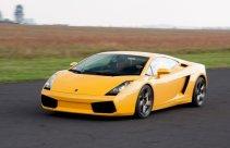 Lamborghini Gallardo na torze wyścigowym