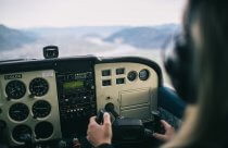 Lekcja latania samolotem