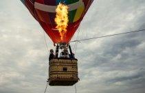 Lot balonem w przestworzach