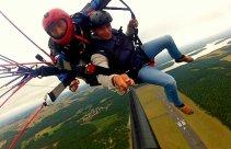 Lot paralotnią dla 2 osób w Borsku