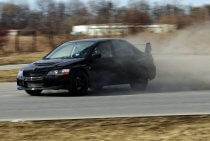 Ekstremalne emocej - poprowadź Mitsubishi Evo
