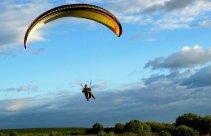 Lot paralotnią w tandemie w okolicach Lublina