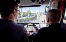 Prowadzenie tramwaju w zajezdni