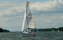 Rejs żeglarski po jeziorach mazurskich