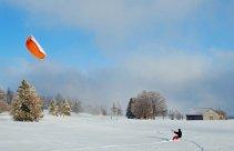 snowkite - szkolenie