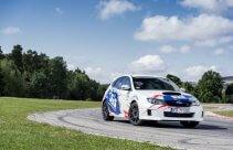 Tor Kielce - jazda rajdowym Subaru