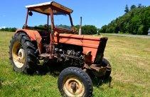 Jazda traktorem