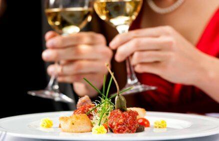 Kolacja w eleganckiej restauracji - Gdańsk
