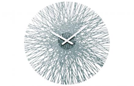 Zegar Ścienny Silk (antracytowy) | Koziol