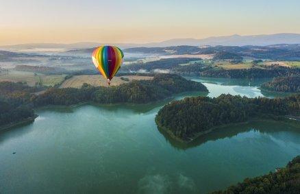Turystyczny lot balonem dla 2 osób