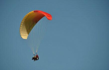 Lot paralotnią - Pomorze