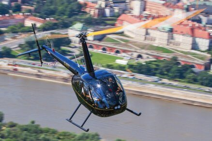 Lot helikopterem nad Warszawą dla 2-3 osób