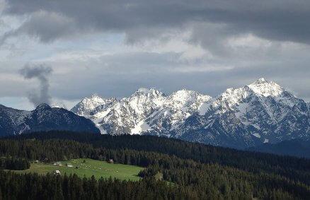 Lot nad Tatrami z Nowego Targu