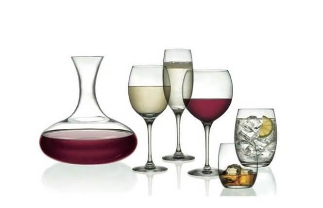 Duże kieliszki do wina