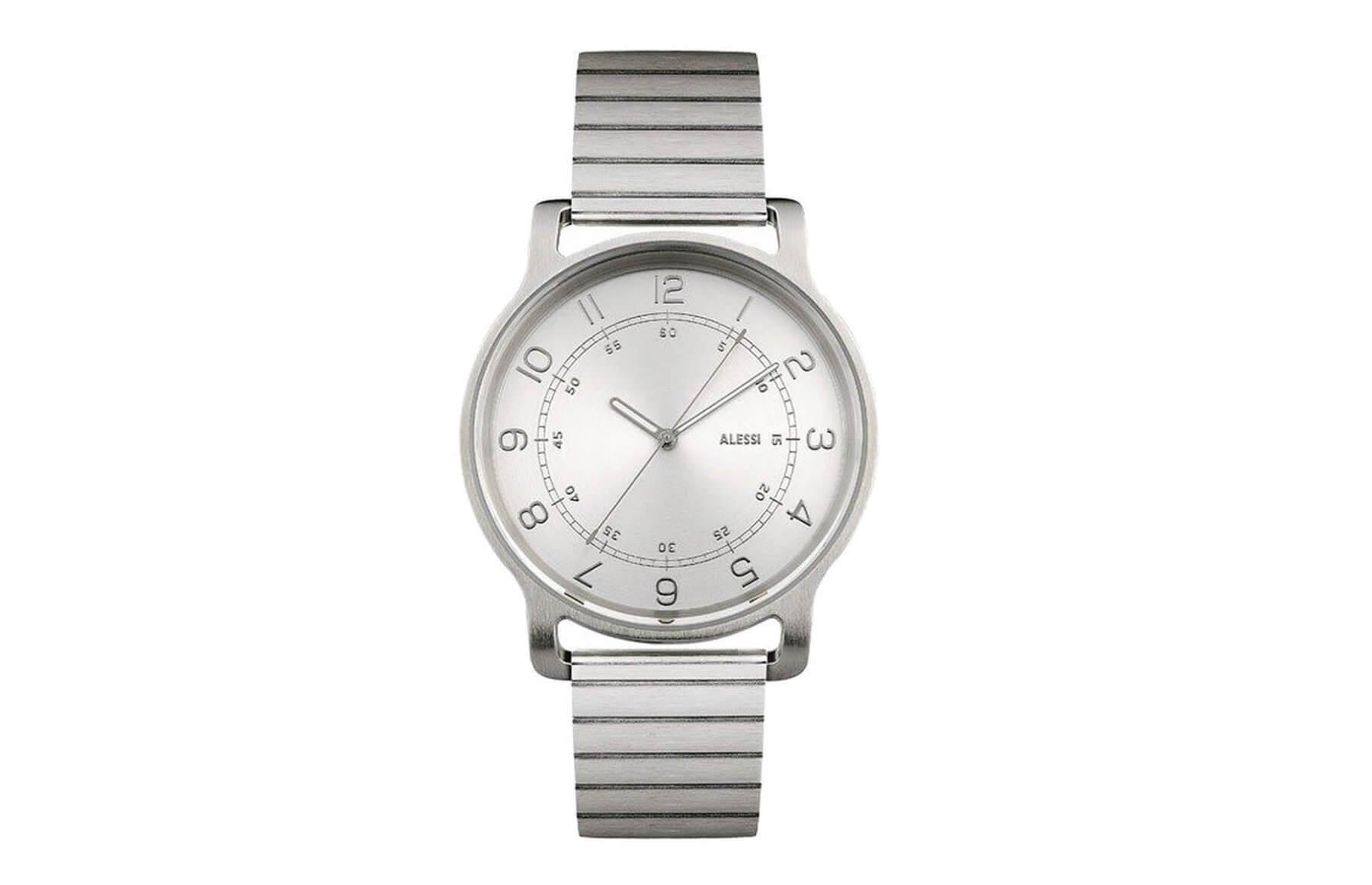 Zegarek l'orologio ze stalową bransoletą