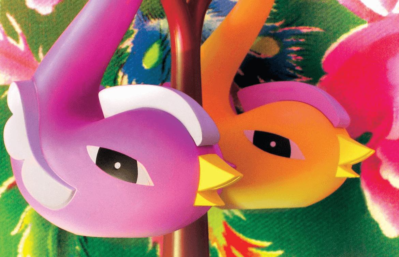 Solniczka i pieprzniczka Paradise Birds Alessi