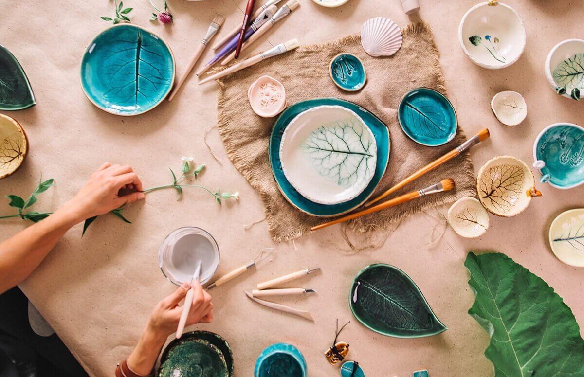 Warsztaty malowania ceramiki i szkliwienia