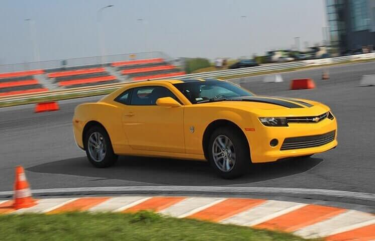 Co-drive Chevrolet Camaro - adrenalina na torze