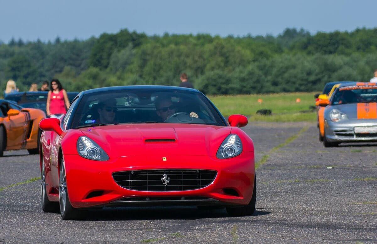 Co-drive Ferrari