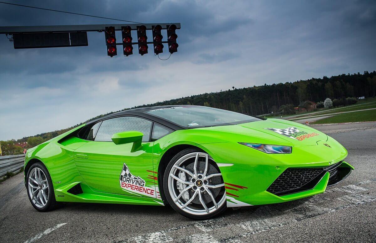 Prezent: Jazda Lamborghini Huracan
