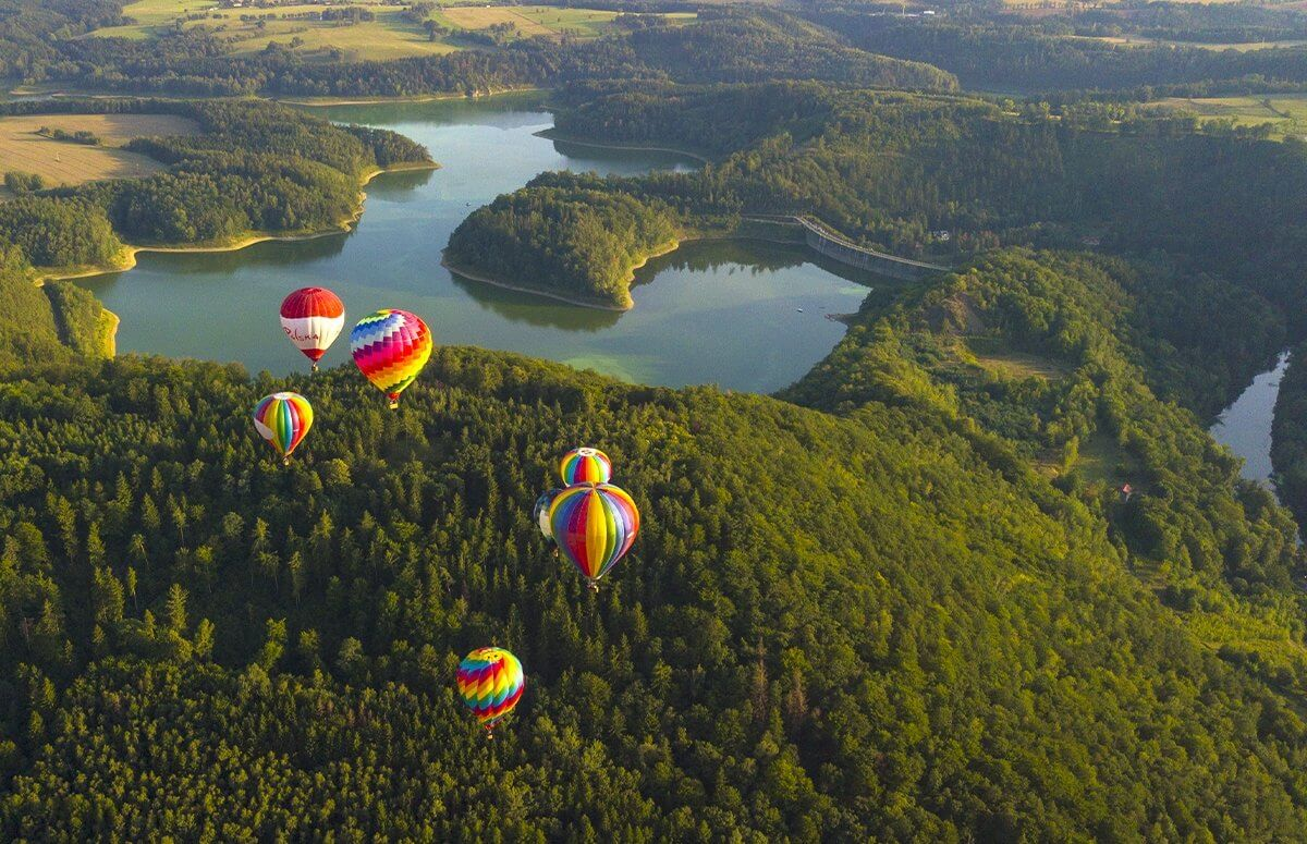 Balon - lot widokowy dla 1 osoby w prezencie