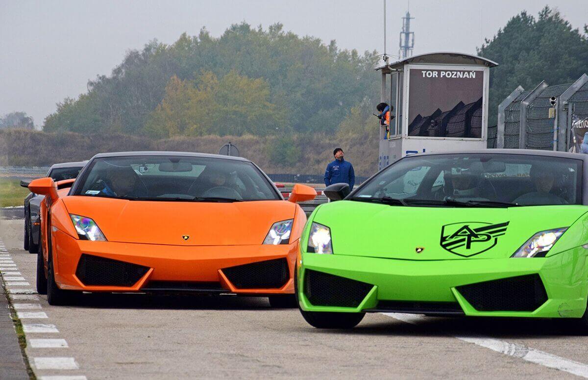 Przejazd Lamborghini - Tor Poznań