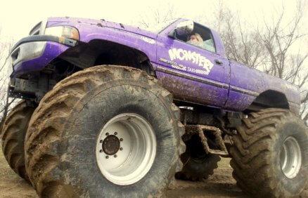 Monster Truck Dodge - jazda dla 2 osób