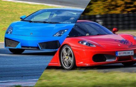 Moto-Weekend z Ferrari i Lamborghini