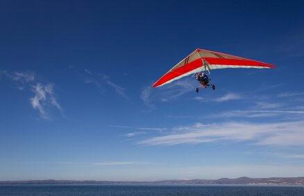 Lot motolotnią w tandemie