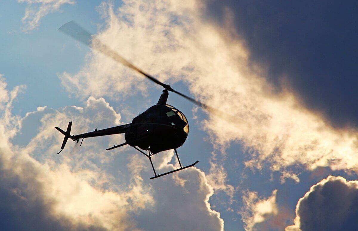 Lot helikopterem dla Dwojga - Wrocław
