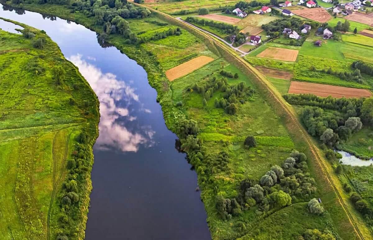 Lot widokowy - Dolina Wisły i okolice Krakowa