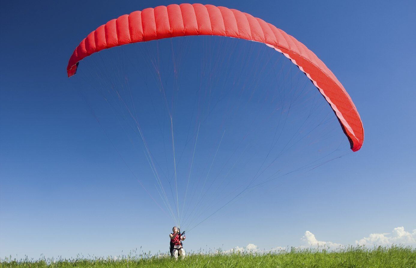 Paralotnia lot tandemowy we Wrocławiu