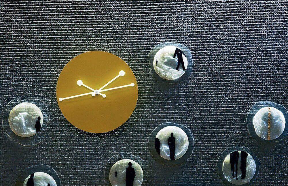 Zegar na ścianę Dotty