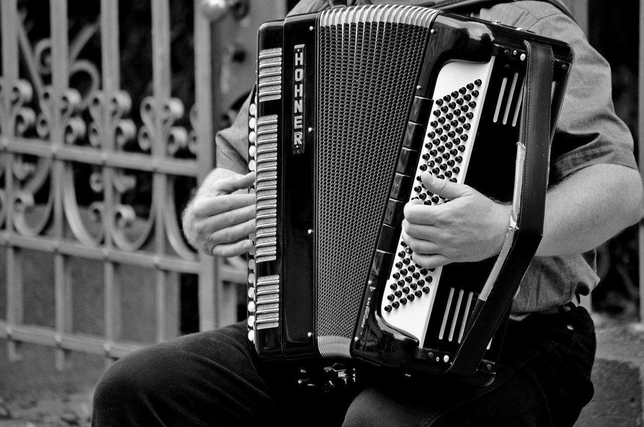 Lekcje gry na akordeonie