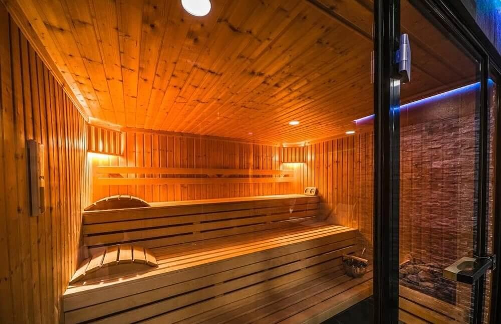 Sauna w strefie SPA - Hotel Strzelnica