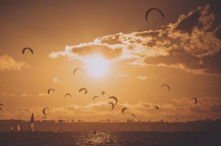 Szkolenie kitesurfingowe na Helu