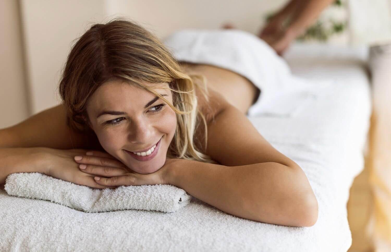 Seria masażów relaksacyjnych