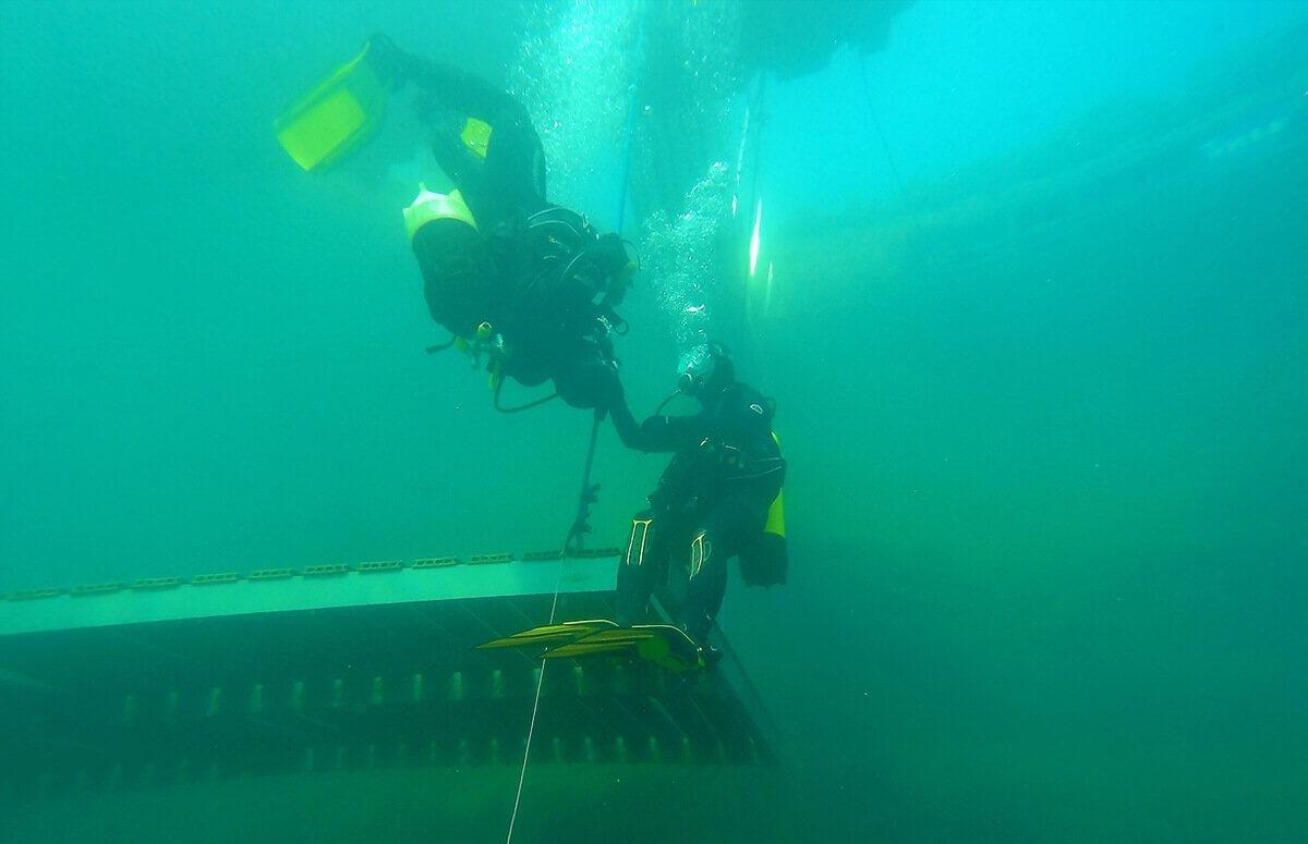 Podwodny kamieniołom - nurkowanie dla 2 osób