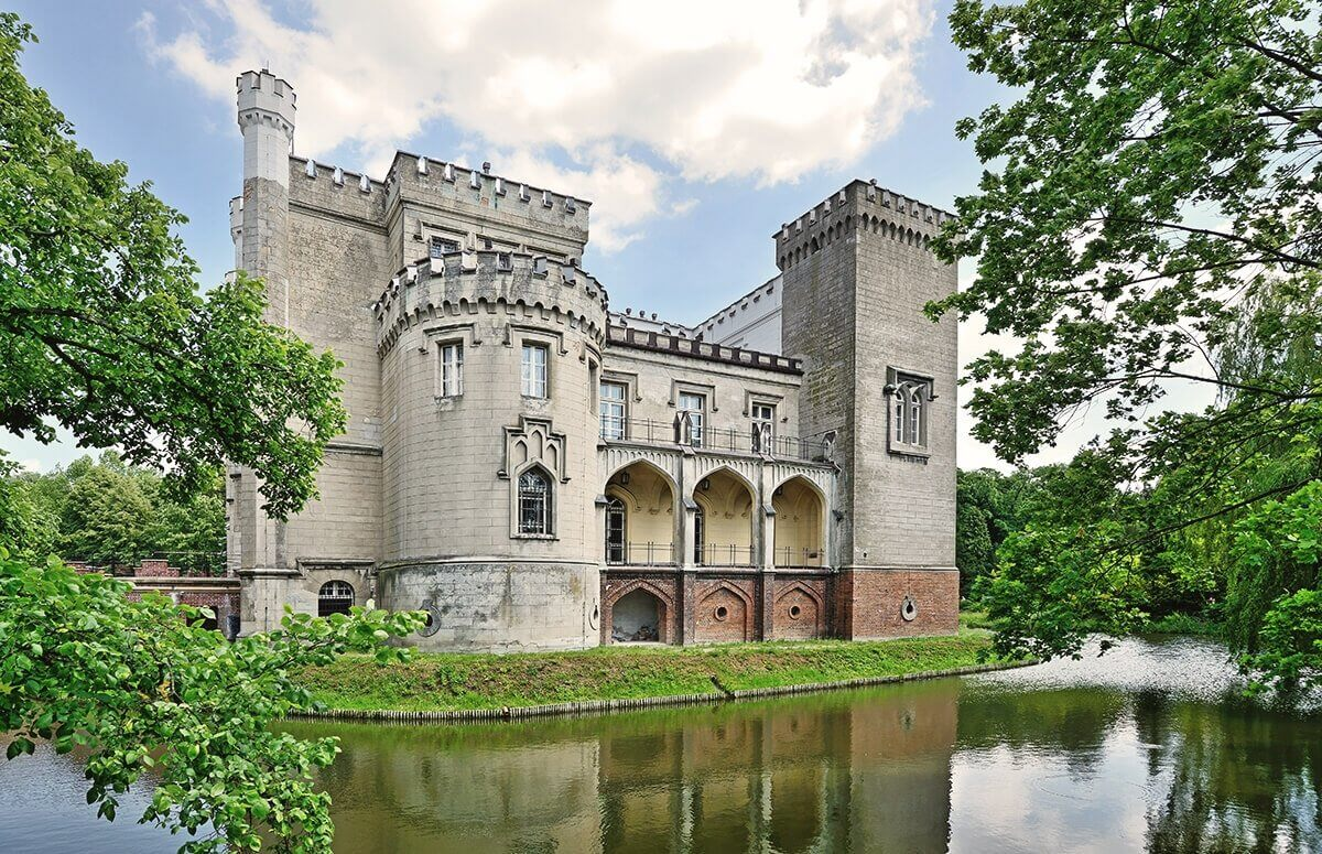 Piękny zamek w Kórniku - Wielkopolska