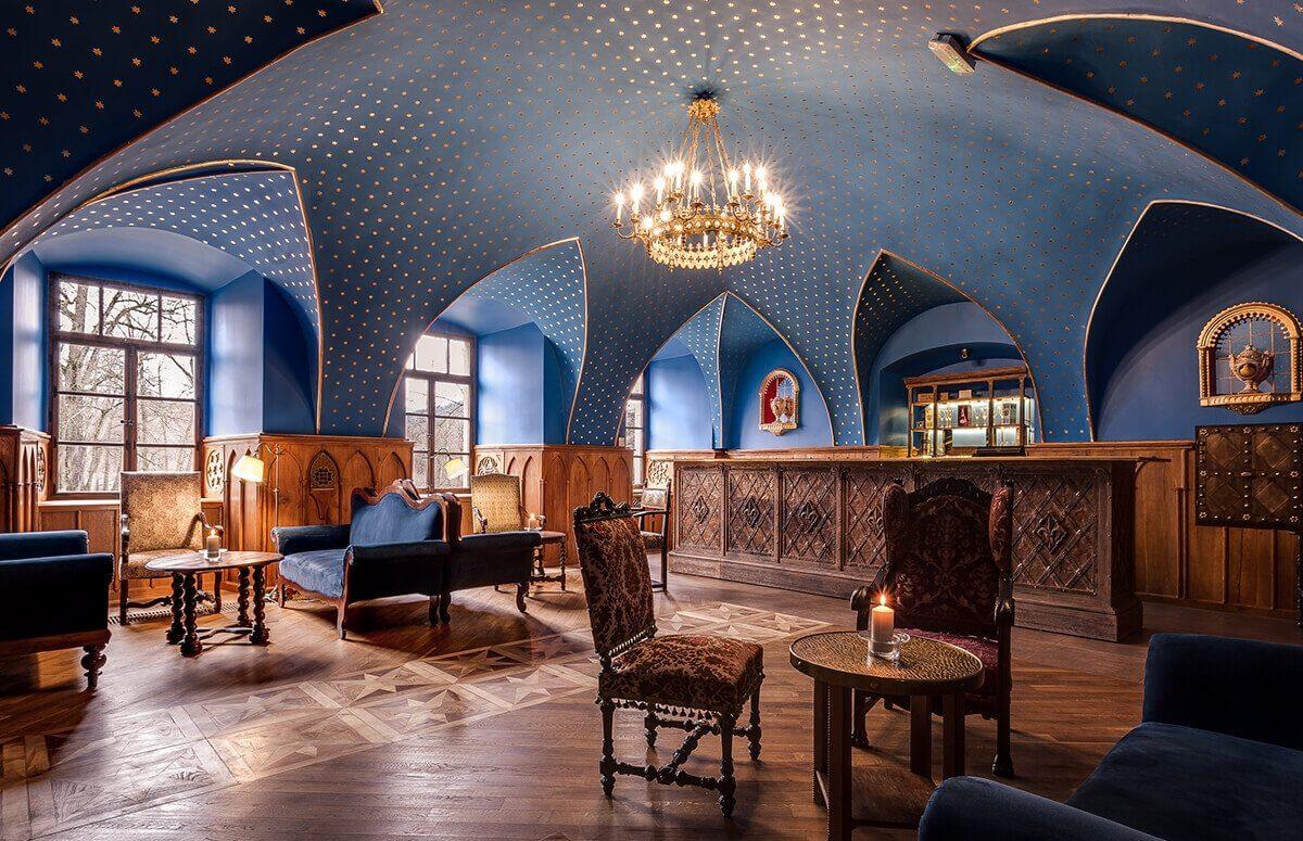 Luksusowe wnętrza Zamku Karpniki