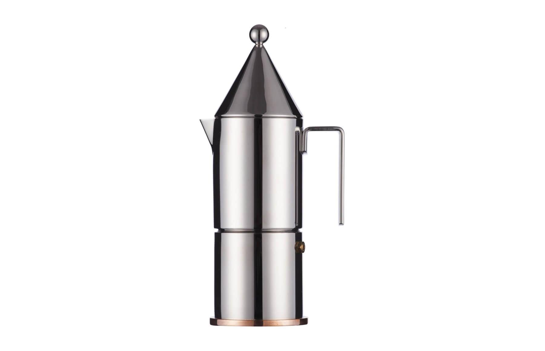 Alessi, La Conica - Zaparzacz do espresso
