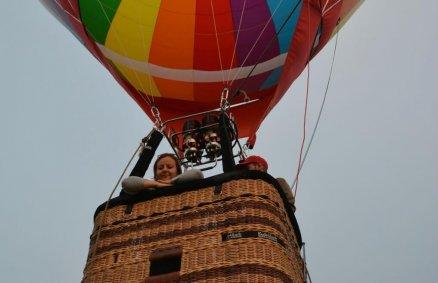 Lot balonem dla rodziny