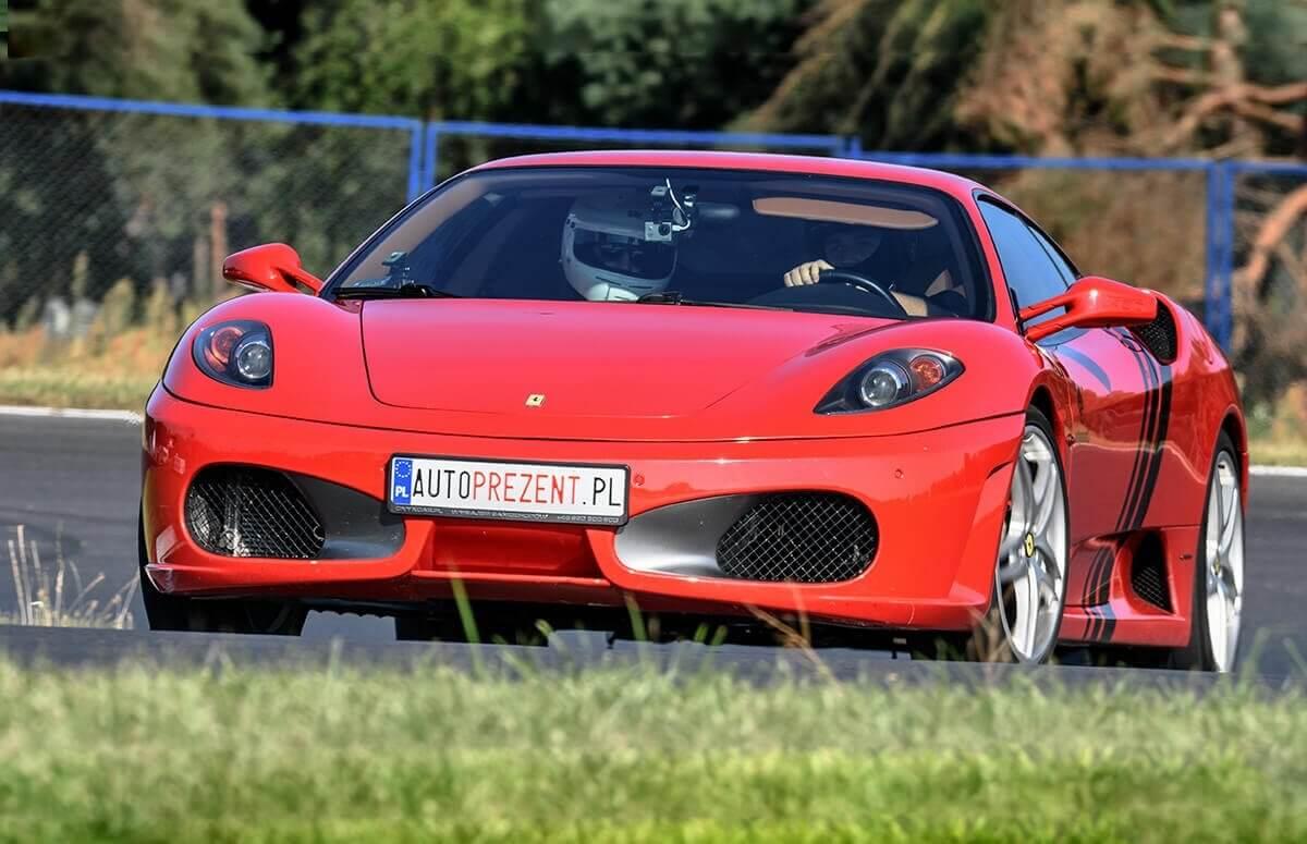 Ferrari F430 - Jazda po torze (1 okrążenie)
