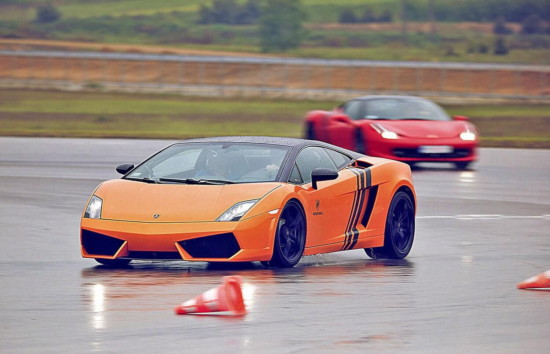 Jazda Lamborghini Gallardo na torze