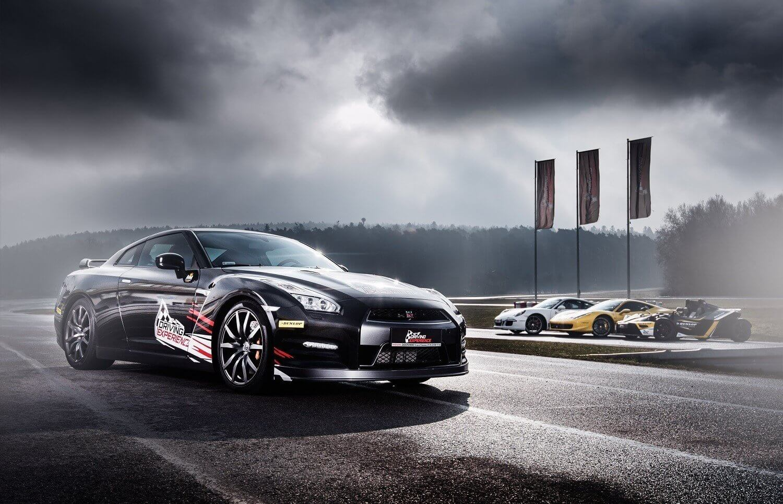 Jazda Nissanem GTR - Kielce
